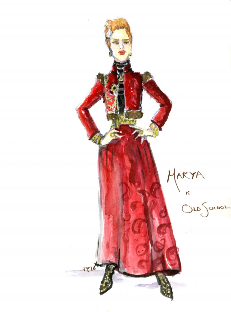 illustration of Marya D