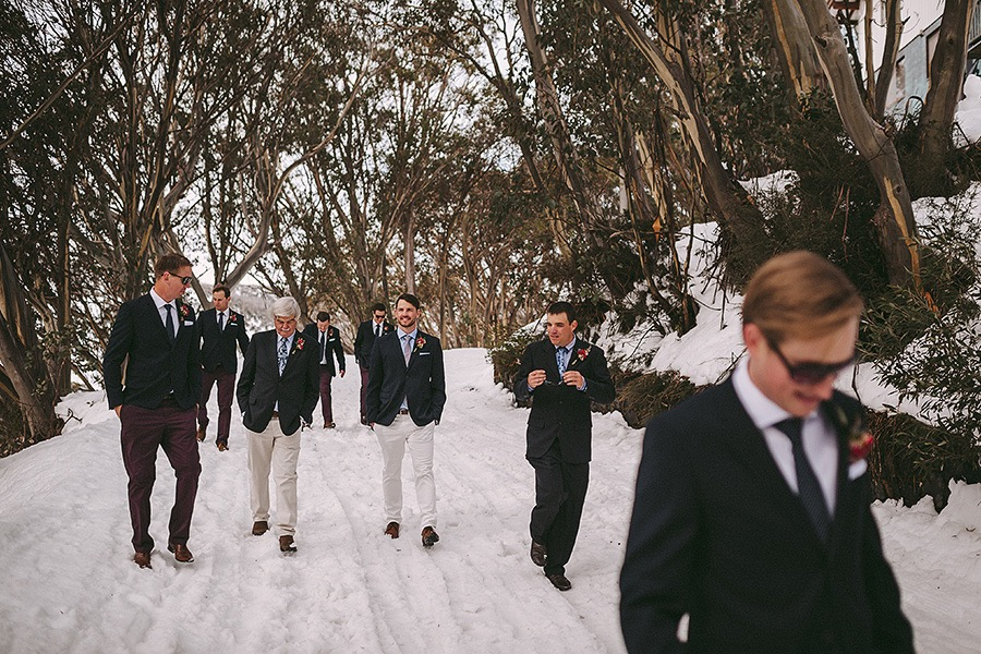 "Megan + Gus' ""Modern Romantic"" themed wedding - Falls Creek, VIC"