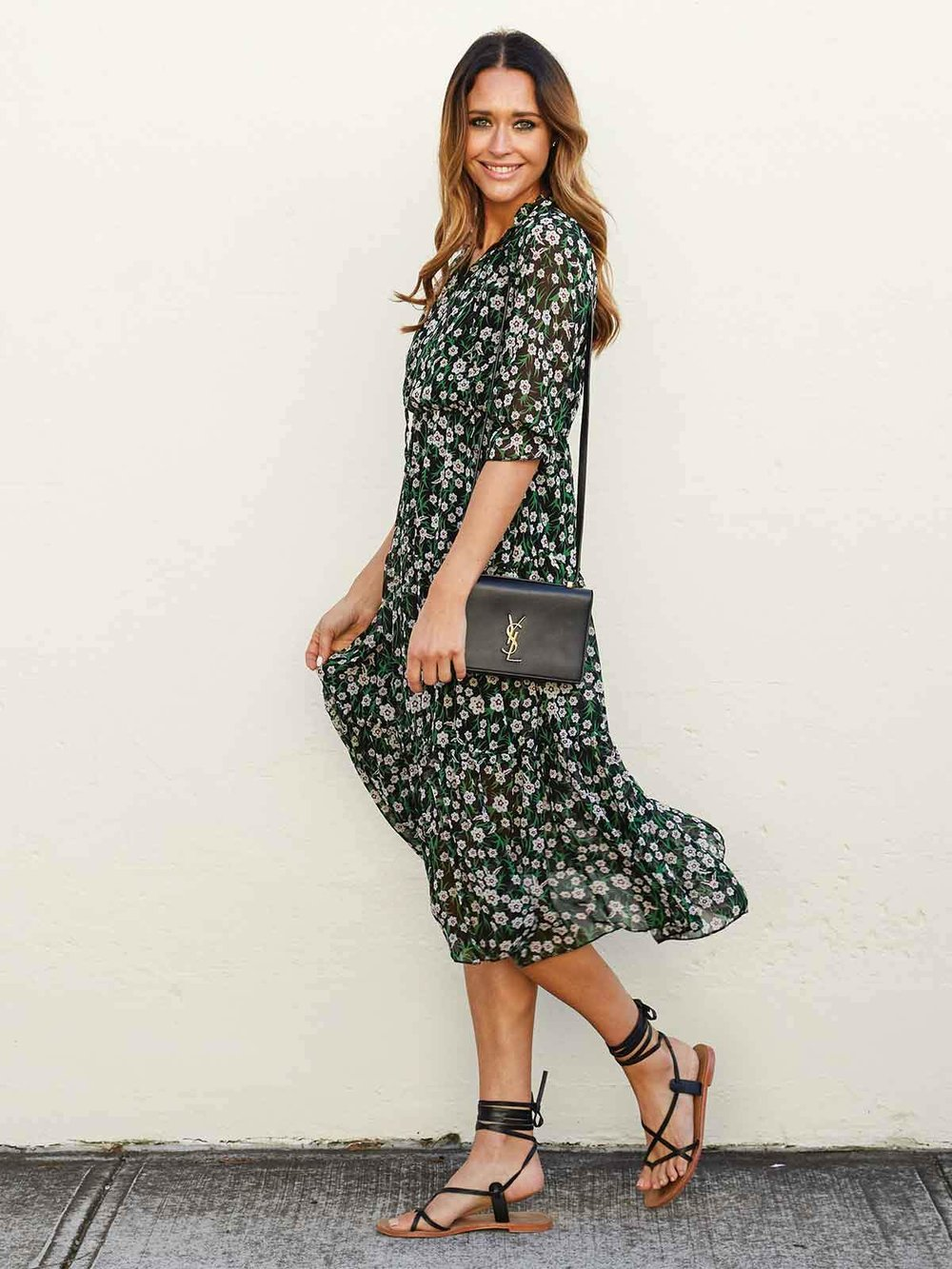 Swiish Pretty Perfection Floral Dress