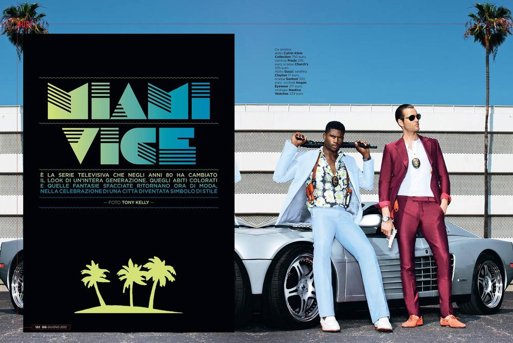 GQ Italia Miami Vice