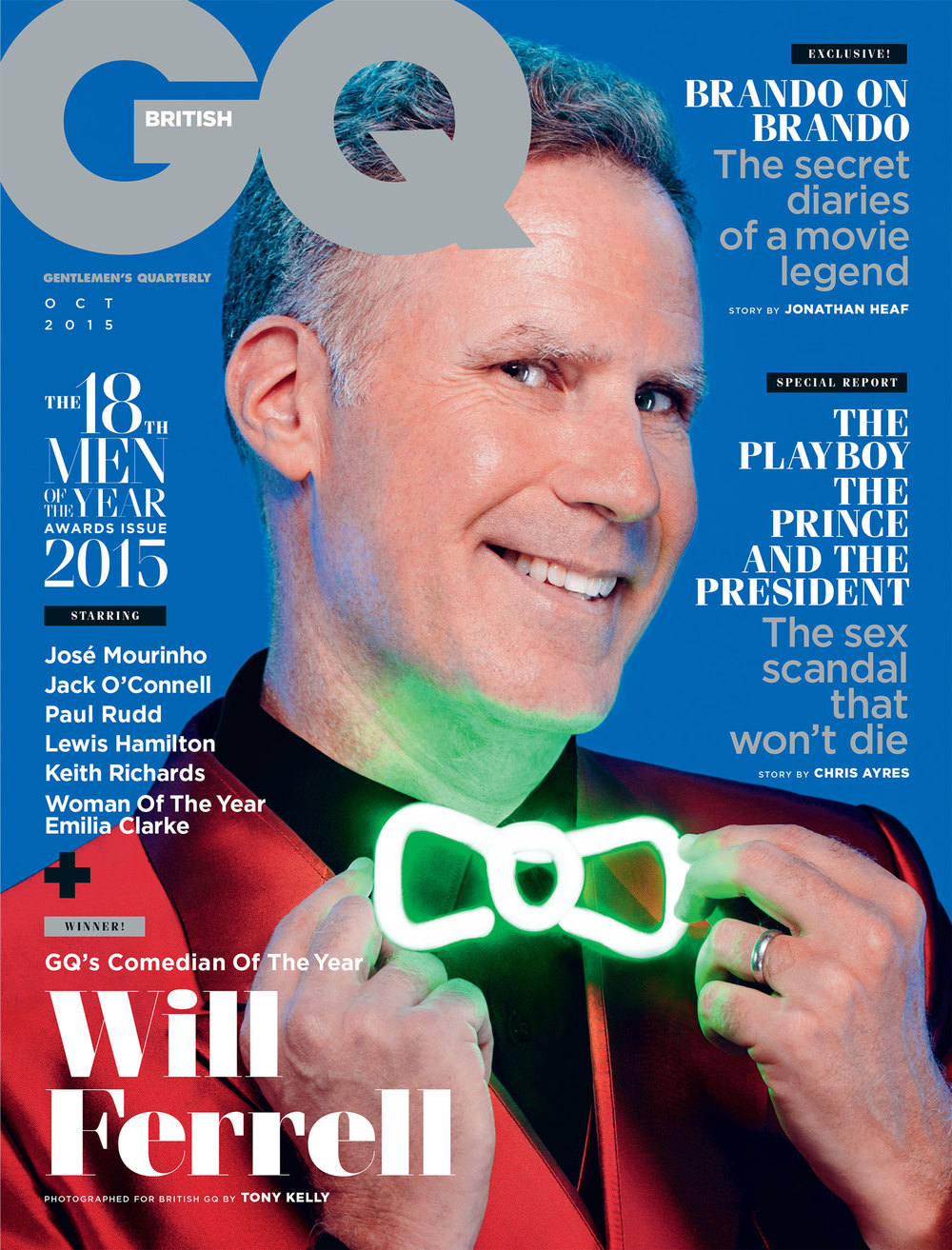 GQ UK Will Ferrell