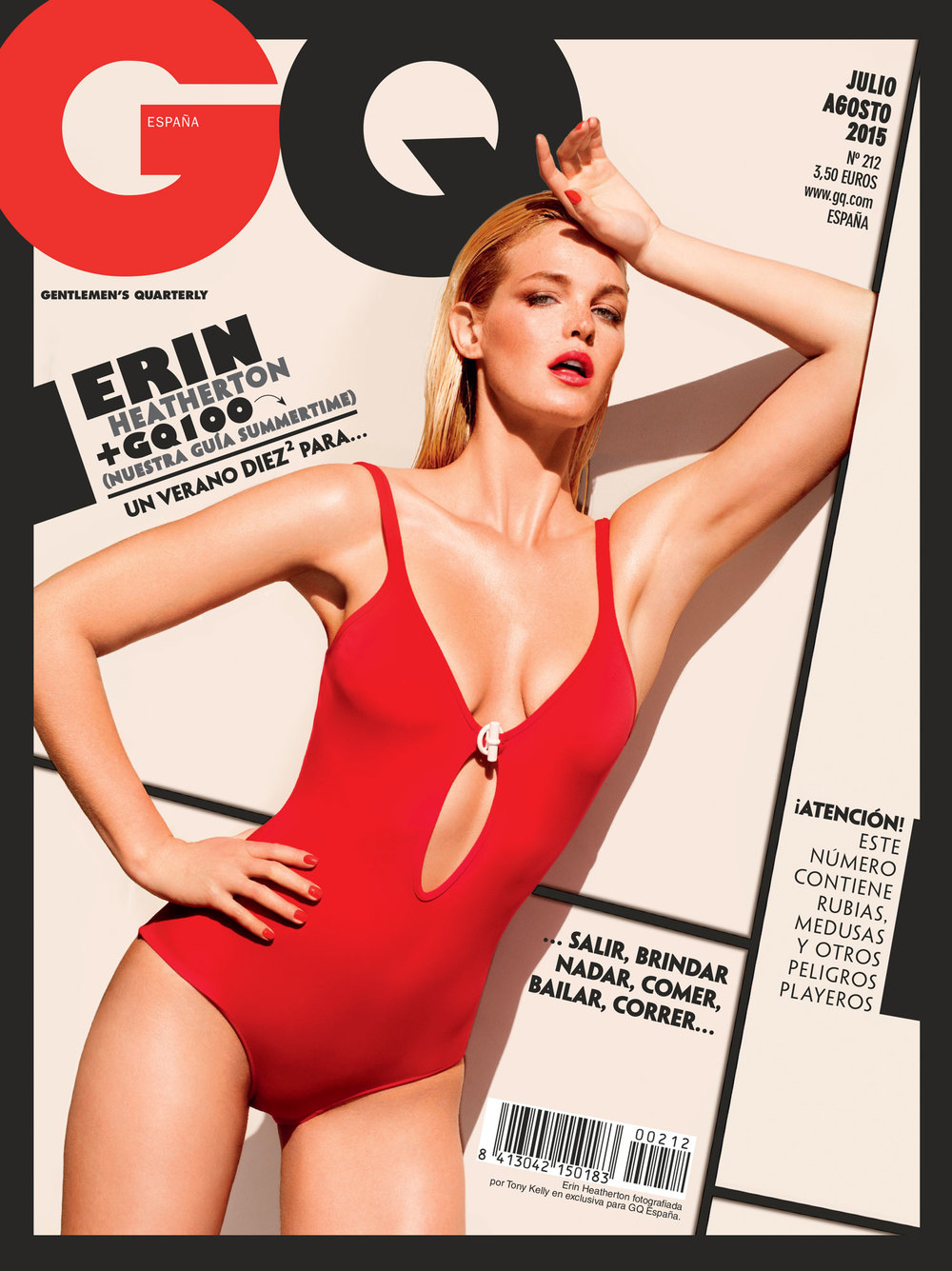 GQ Spain Erin Heatherton
