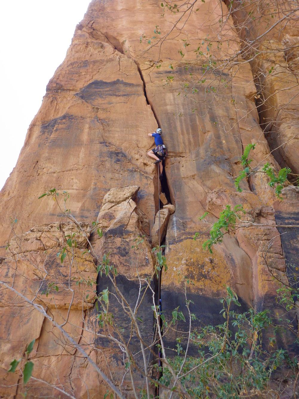 Climbing Ethiopia