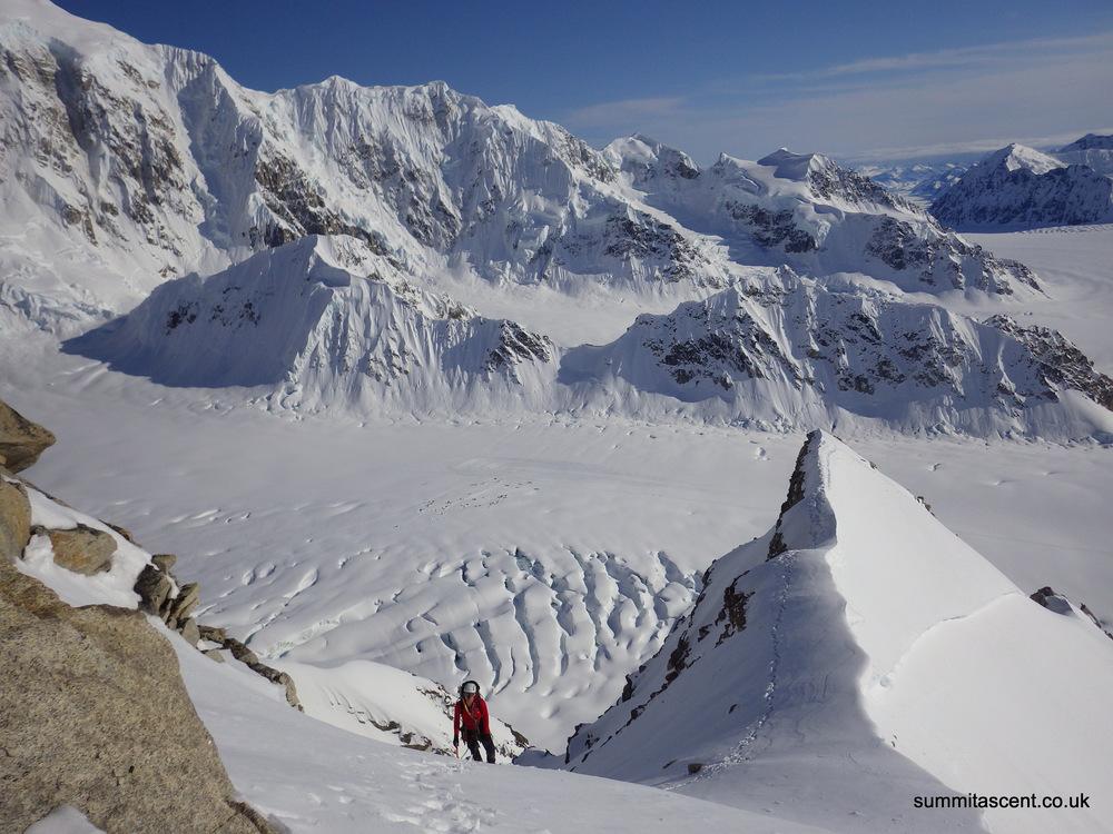 South West Ridge, Mount Frances, Central Alaskan Range