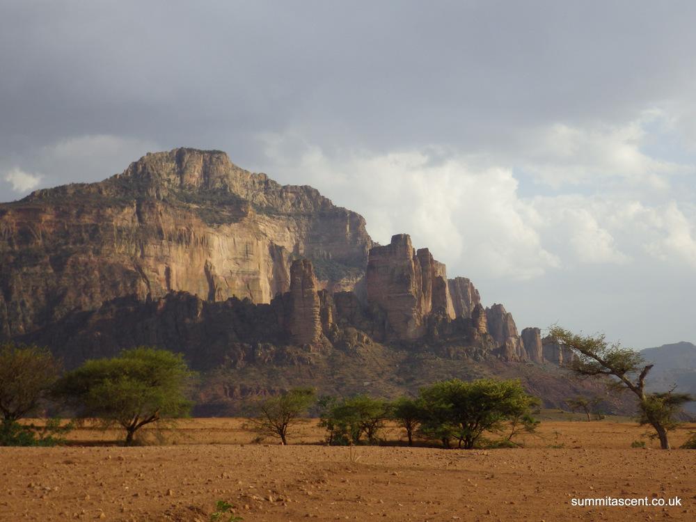 Megab Towers, Hawzien, Ethiopia