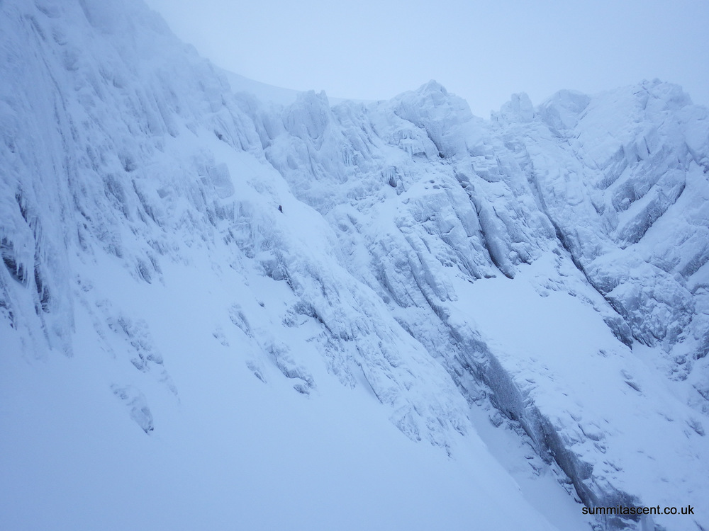 Cat and Andy on Number 2 Gully Buttress