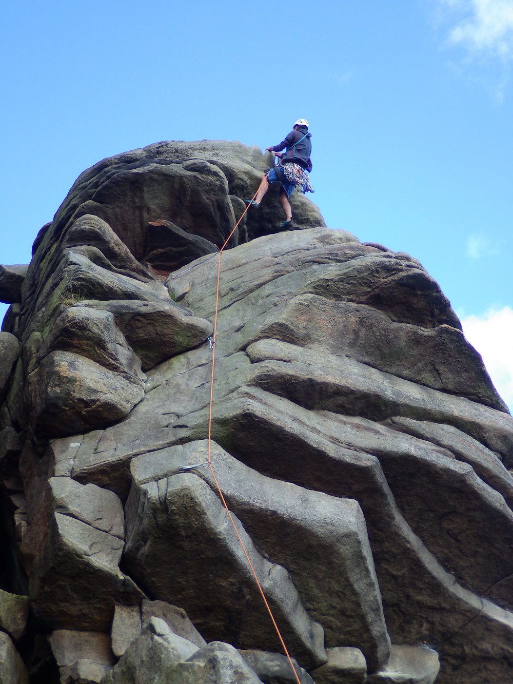 Flying Buttress, VDiff, Stanage, Peak District