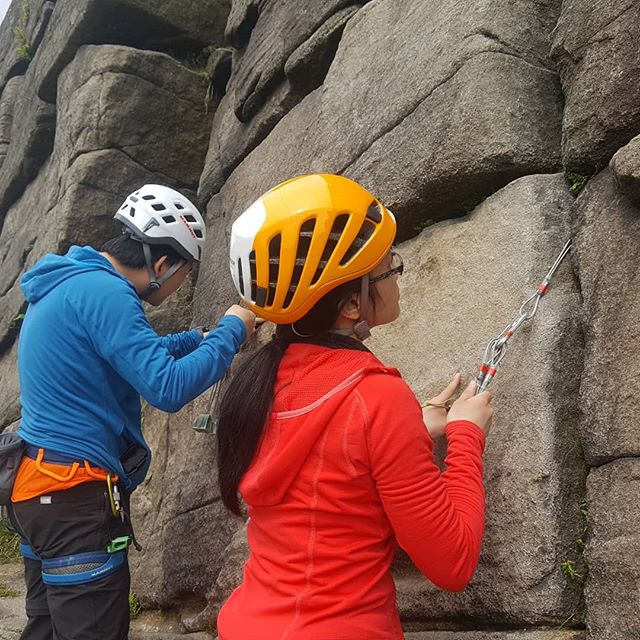 Great day out delivering another of the @teambmc Ready to Rock courses in the #Peakdistrict  @ami_professionals
