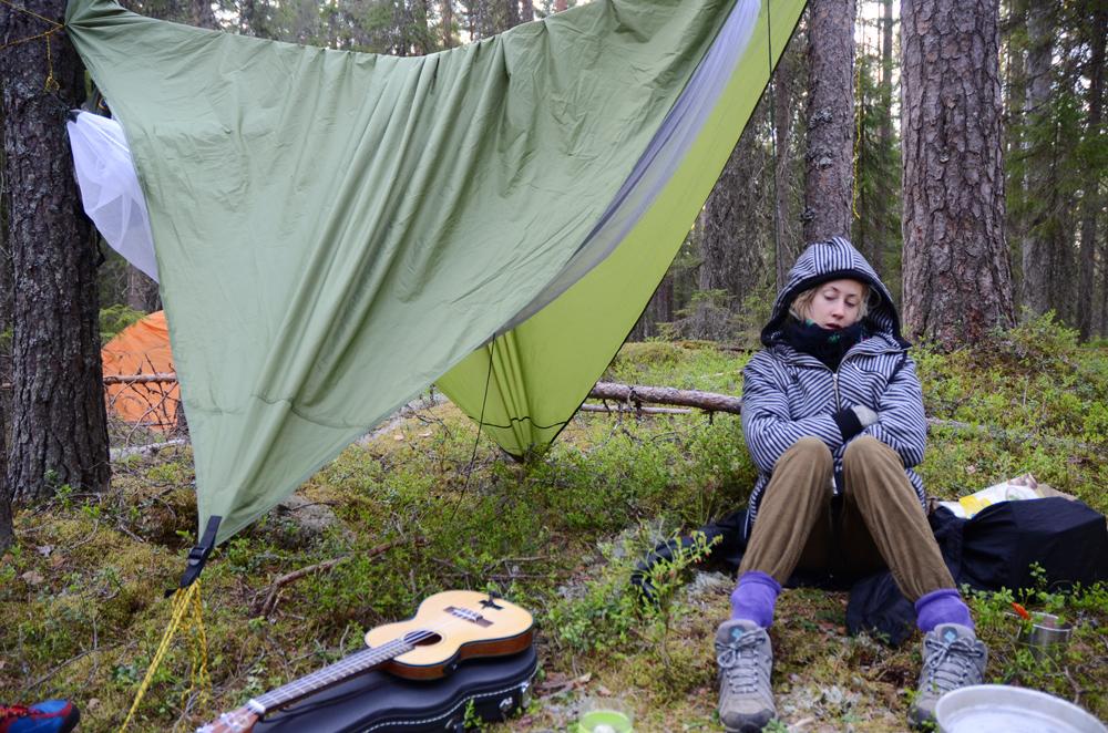 First camp.