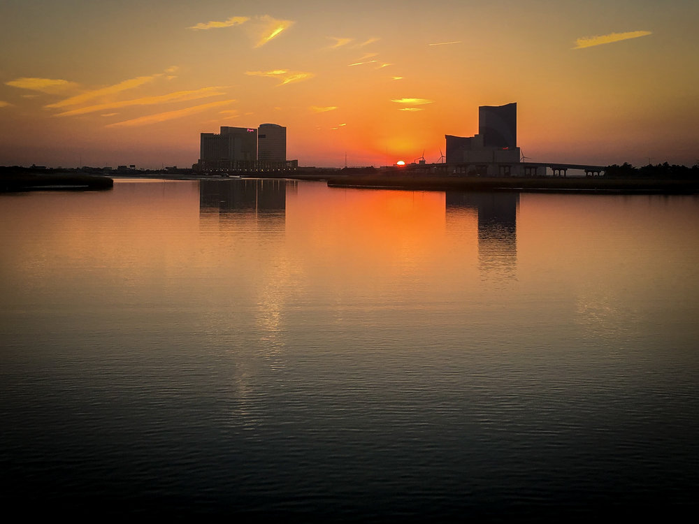 Sunset Over Atlantic City (Photo By C-Shel Photography)
