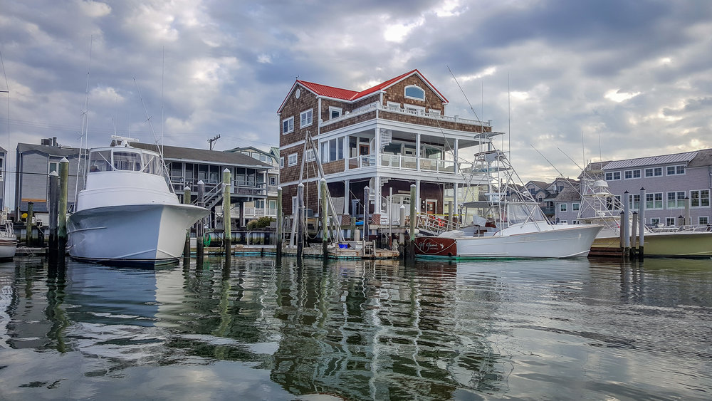 Living on the Water in Cape Map, NJ (Photo By Diane Edge)