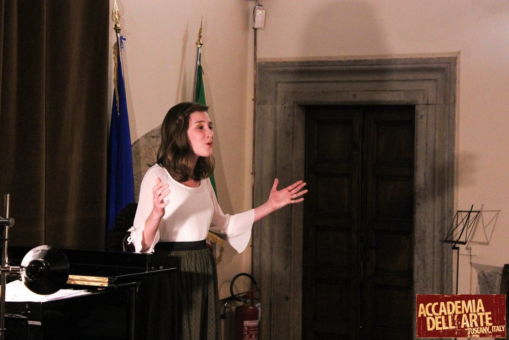 Performing in Tuscany - with the Accademia Dell'Arte!