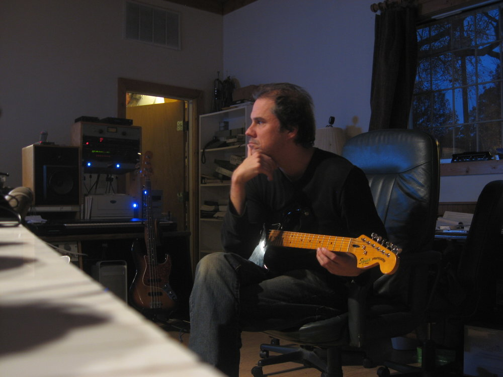 Alonso Listening To Playback For Funk Song Recording, 800 East Studios.JPG