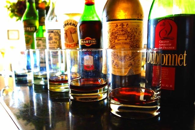 Vermouth tasting