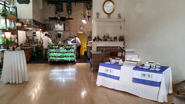 Bouley Botanical Aura Cacia event
