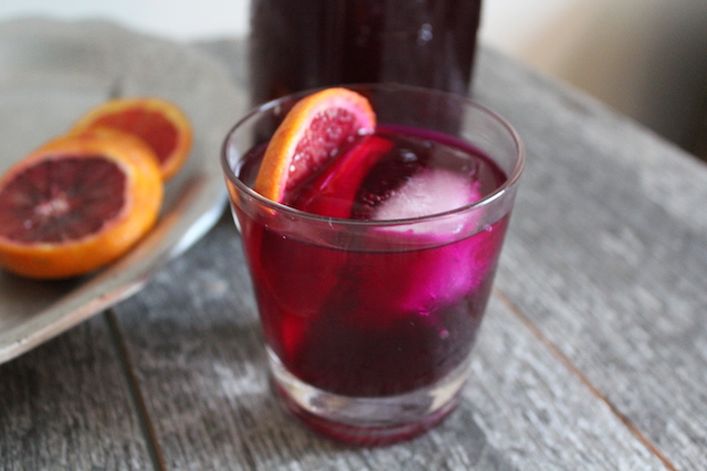 So Kvassome Beet Kvass Cocktail by Sprig and Spirit