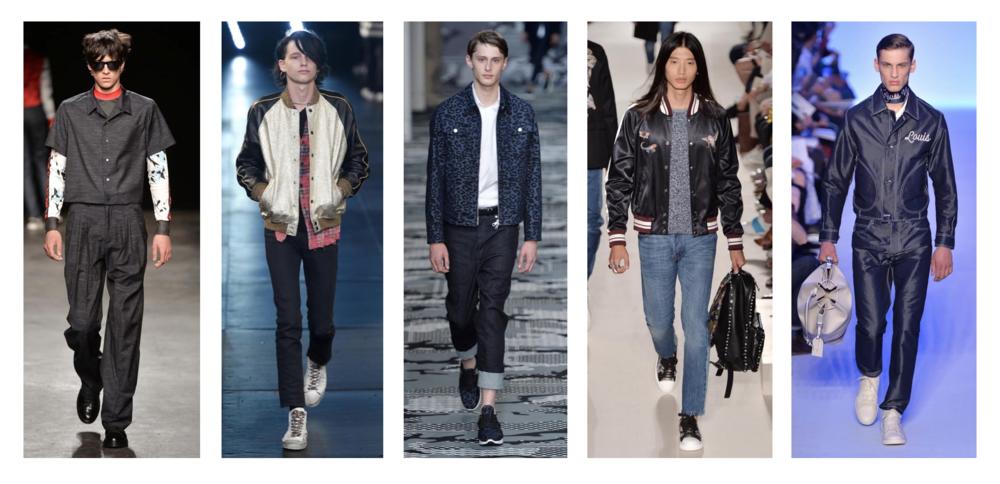 Topman Design / Saint Laurent / Neil Barrett / Valentino / Louis Vuitton