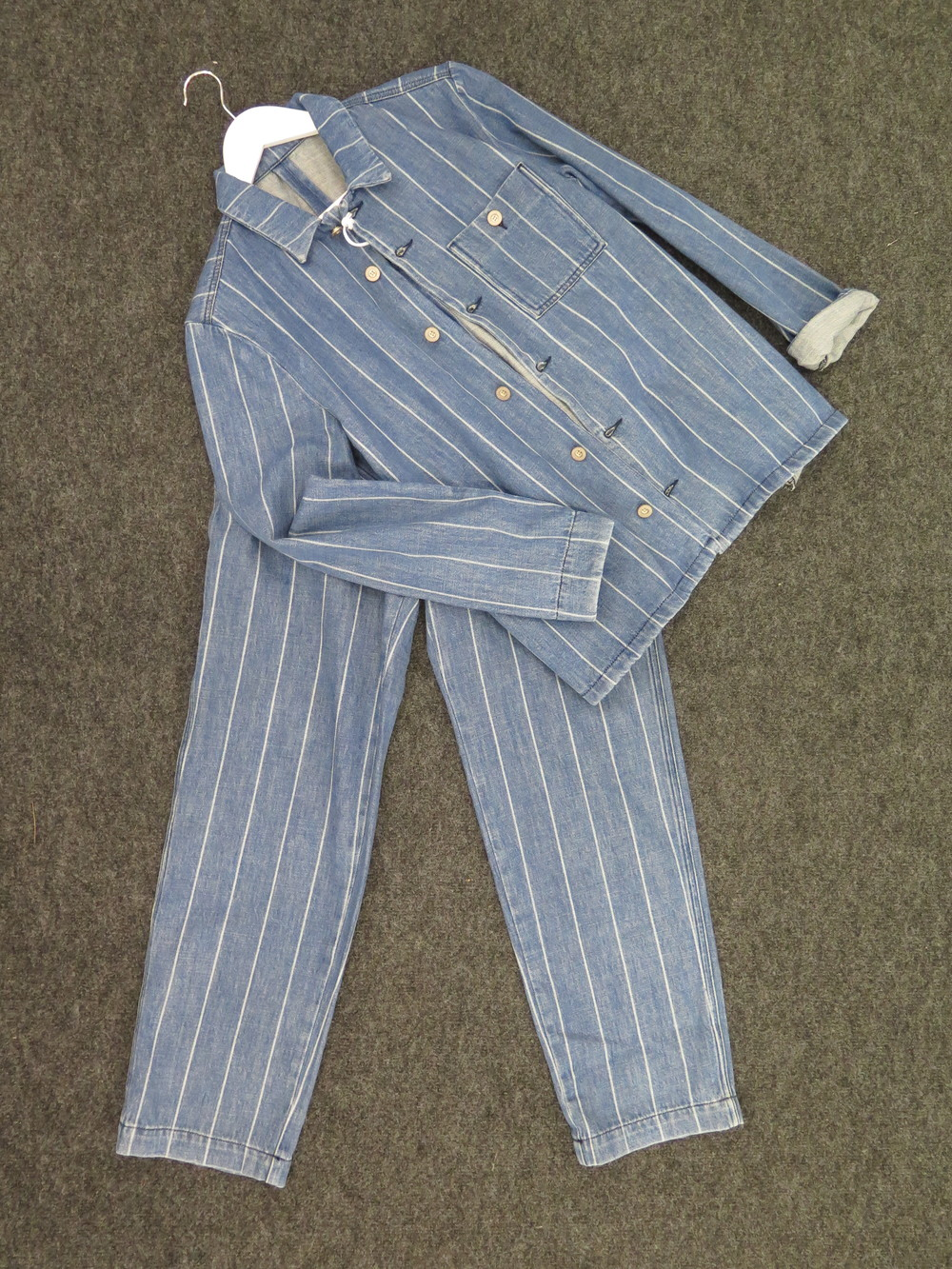 Bethnals Pinstripe Two Piece