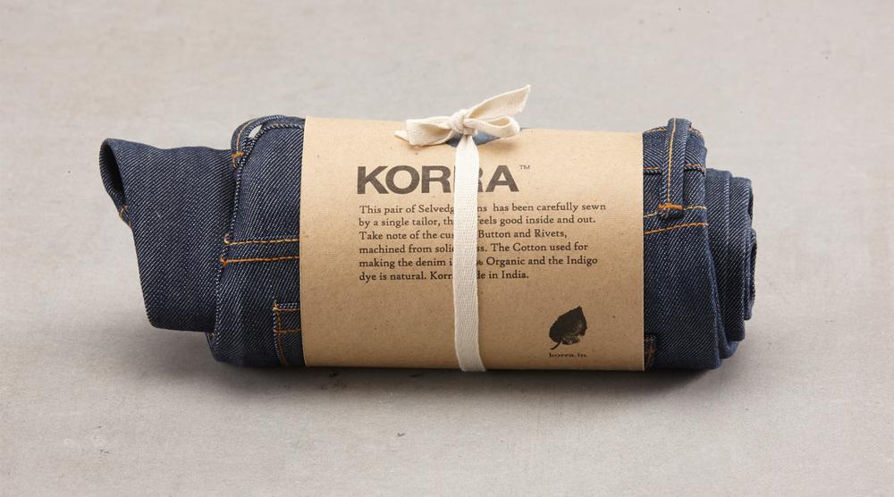 A Korra Jean. Photography by Shovan Gandhi for KORRA