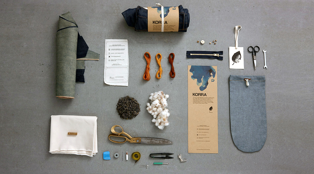 The components. Photography by Manish Lakhubafor KORRA: