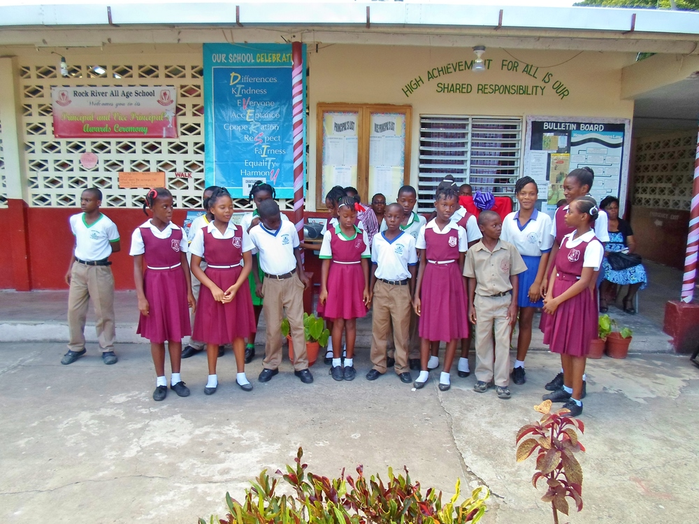 Our funds sponsor at risk students in Jamaica   Donate