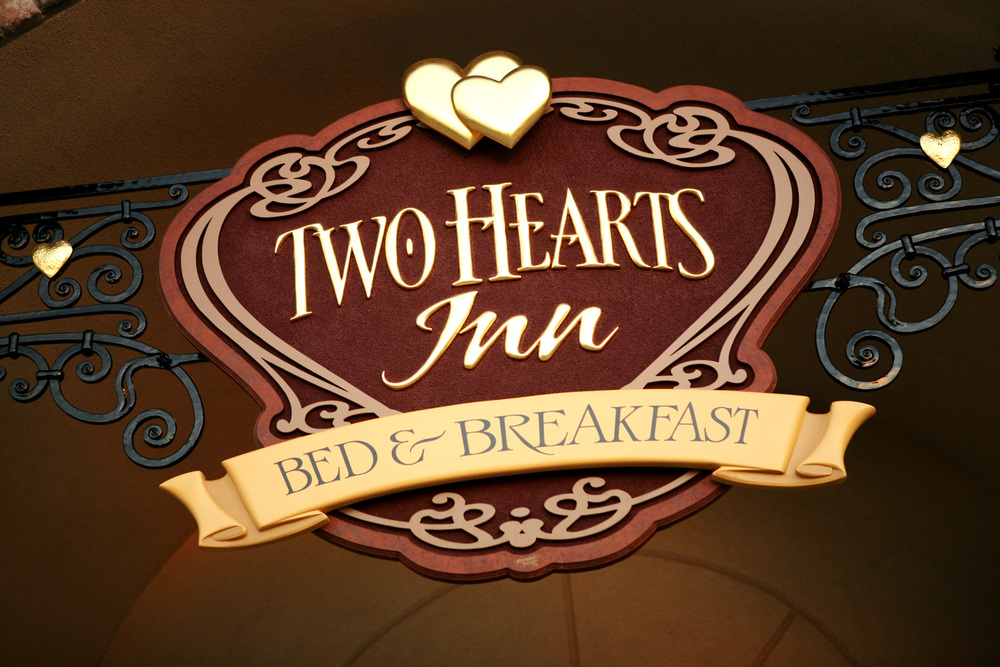 Two Hearts Inn Sign