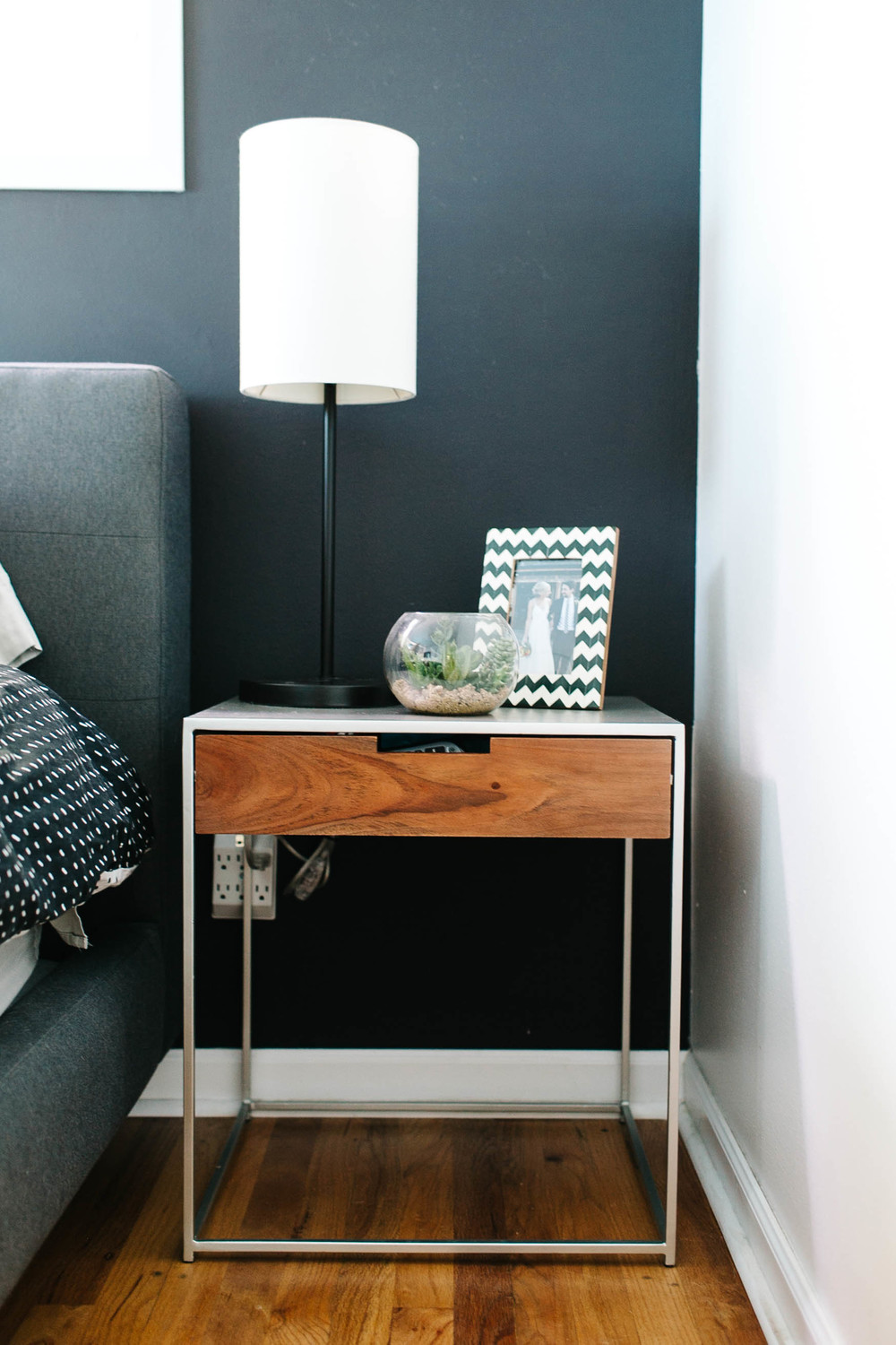 gina paulsn seattle home tour nightstand