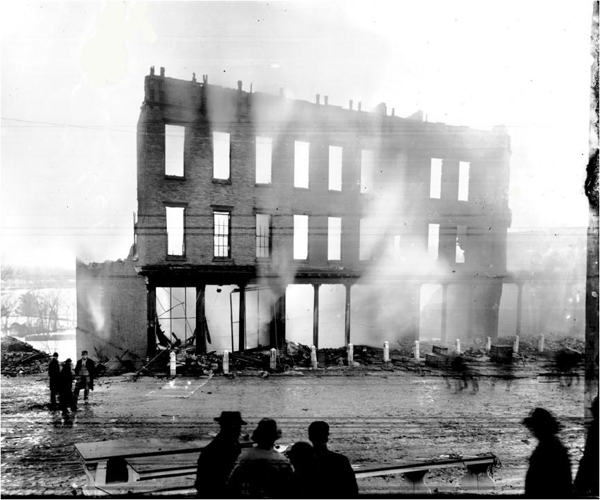 Center Street Fire 1888