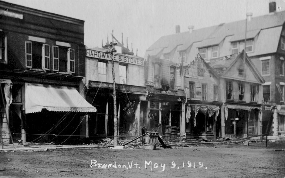 Park Street Fire, 1919