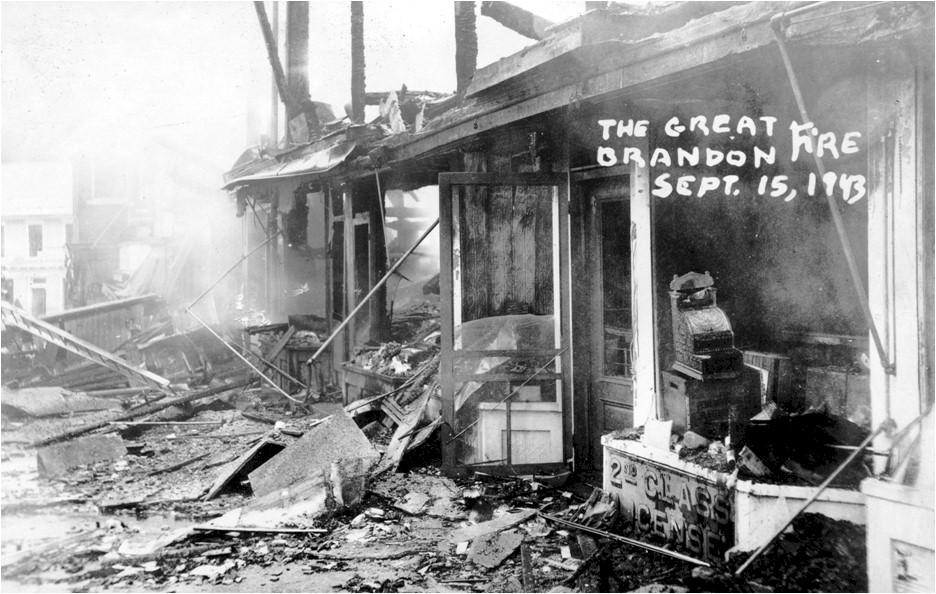 Center Street Fire, 1943