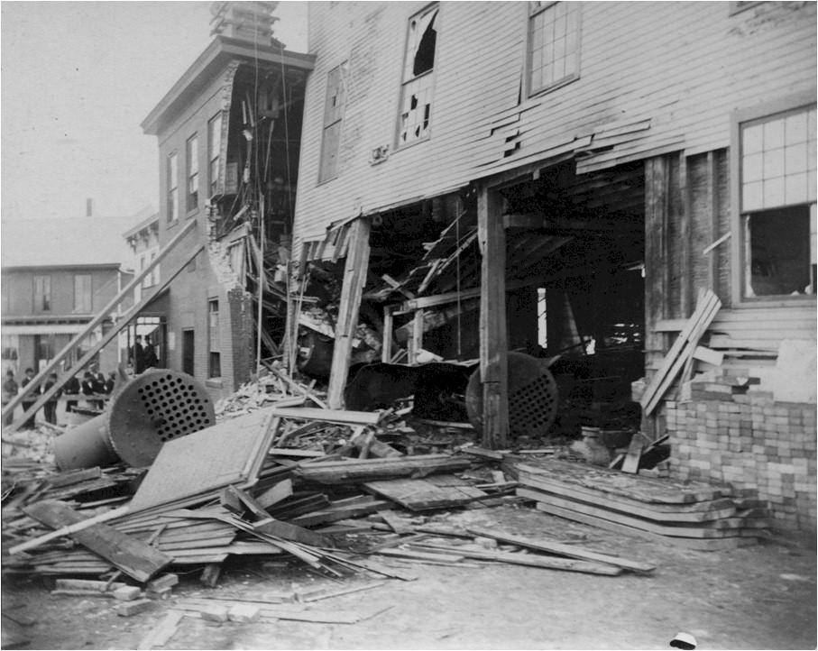 Center Street Fire, 1892