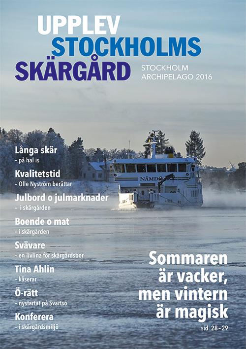 Upplev Stockholms Skärgård 2016 Höst/vinter