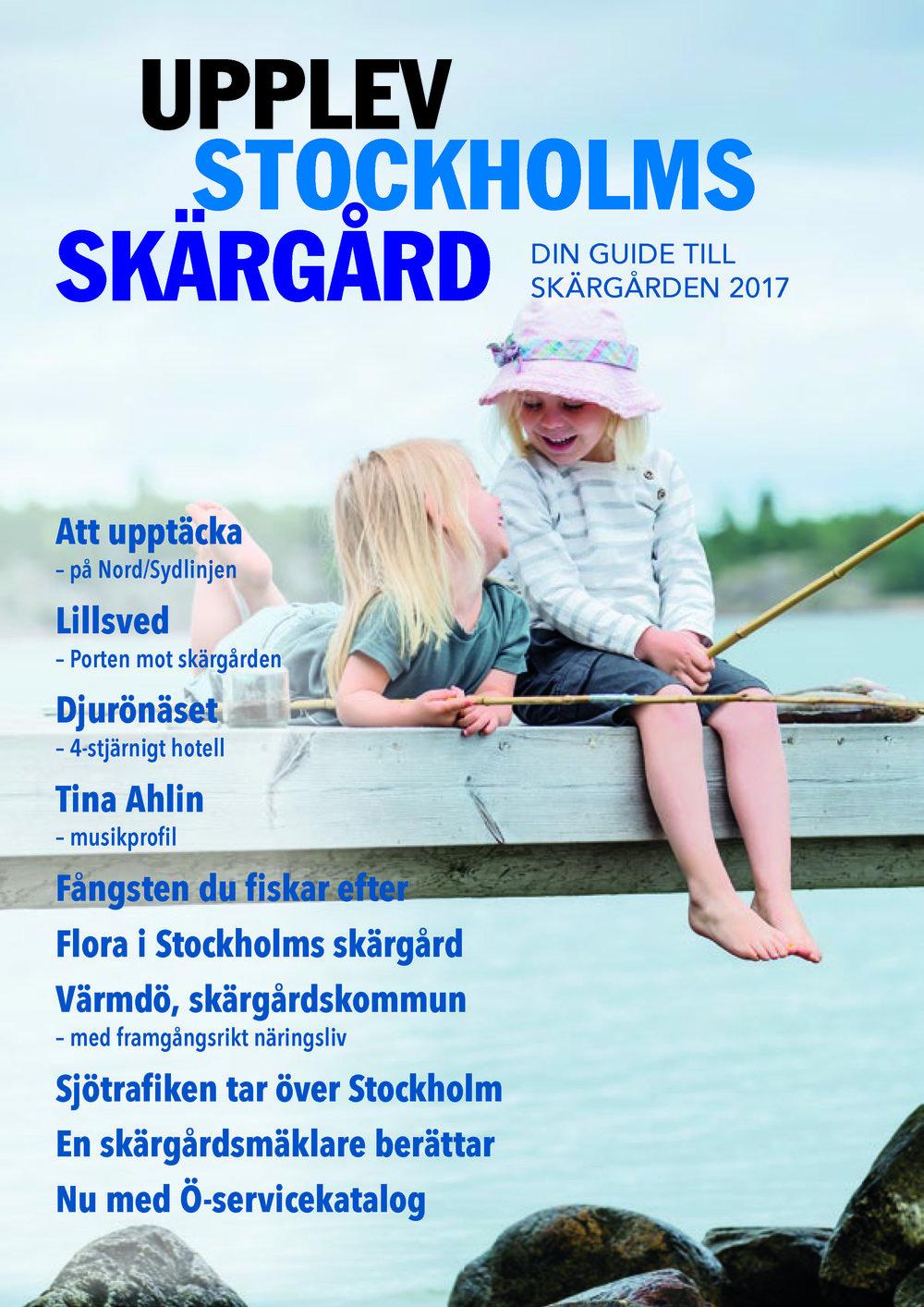 Upplev Stockholms Skärgård 2017 Vår/sommar