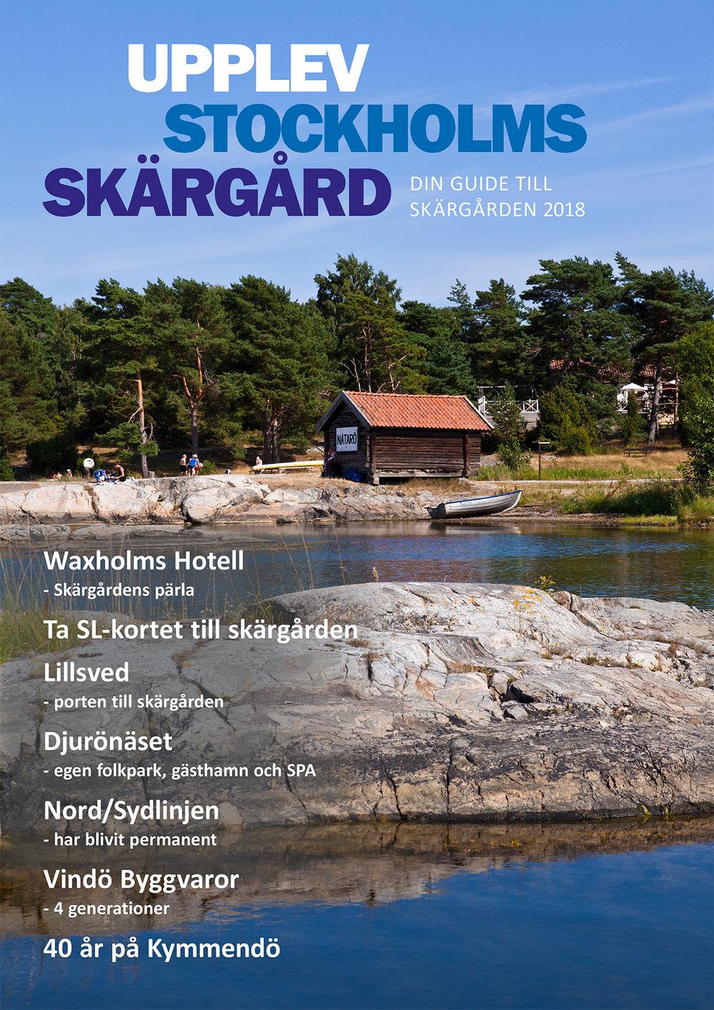 Upplev Stockholms Skärgård 2018