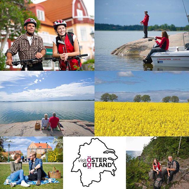 Vad har Kolmårdens djurpark, Göta kanal, flygvapenmuseet, Heliga Birgitta och Smultronstället gemensamt? Alla ligger i Östergötland och kan göra din semester oförglömlig! Östergötland bjuder på stor variation, med ett utbud som passar oavsett om du vill klappa delfiner, rida på hästar eller åka på en visualiserad 3D-resa ut i rymden.  Idag hälsar vi Visit Östergötland välkommen till Sverigedagarna 25-27 maj 2018. @visitostergotland #sverigedagarna #skärgårdsmässan