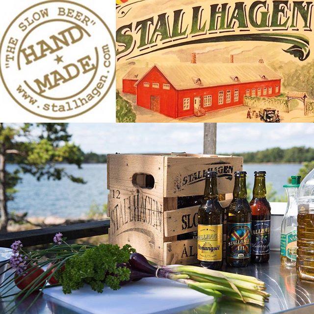 Idag välkomnar vi Stallhagen från Åland till Sverigedagarna. Bryggeriets grundidé var att tillverka goda hantverksöl främst för den åländska marknaden. Med sina välsmakande produkter har företaget dock snabbt vunnit otaliga vänner utanför Åland. Numera säljs Stallhagens öl både i Finland och Sverige och exporteras bl.a. till Belgien och Japan. Kom till Galärparken och upplev Ålands byn där Stallhagen är en del av serveringen. @pubstallhagen #stallhagen #stallhagenbryggeri #sverigedagarna #skärgårdsmässan