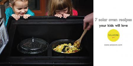 solar oven recipes for kids