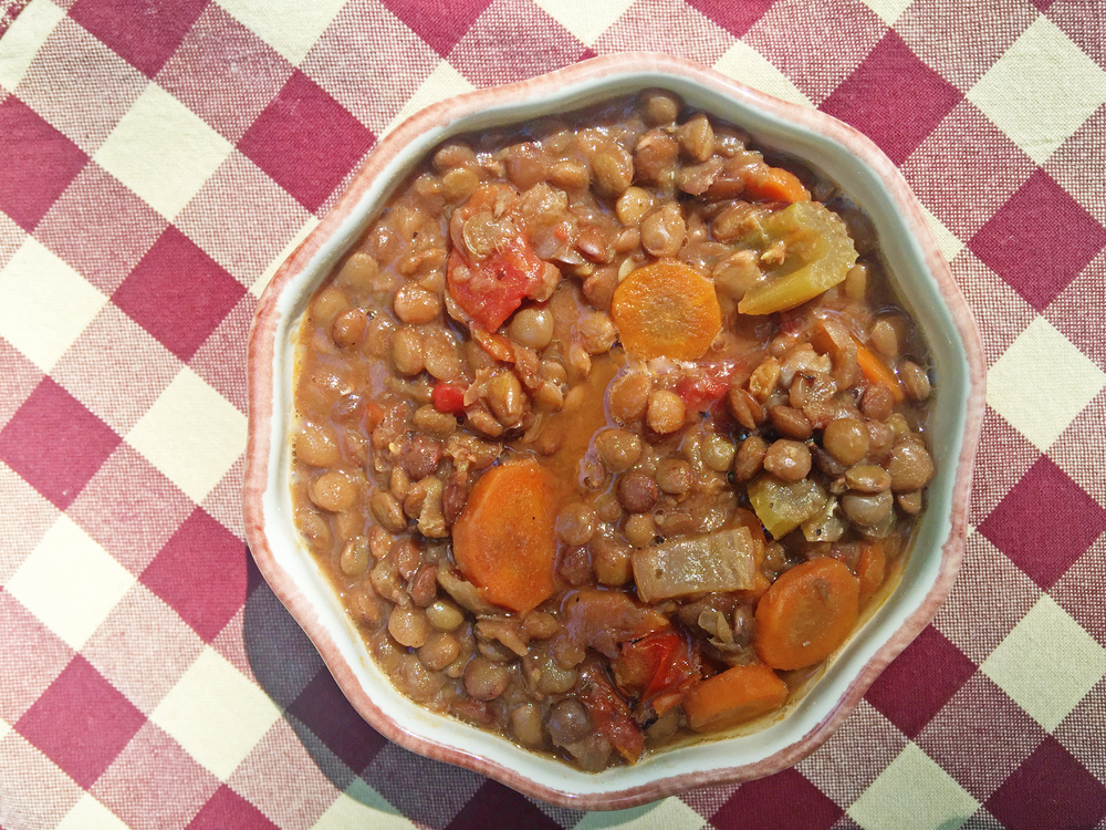 Solar oven lentil soup recipe from the Solavore blog