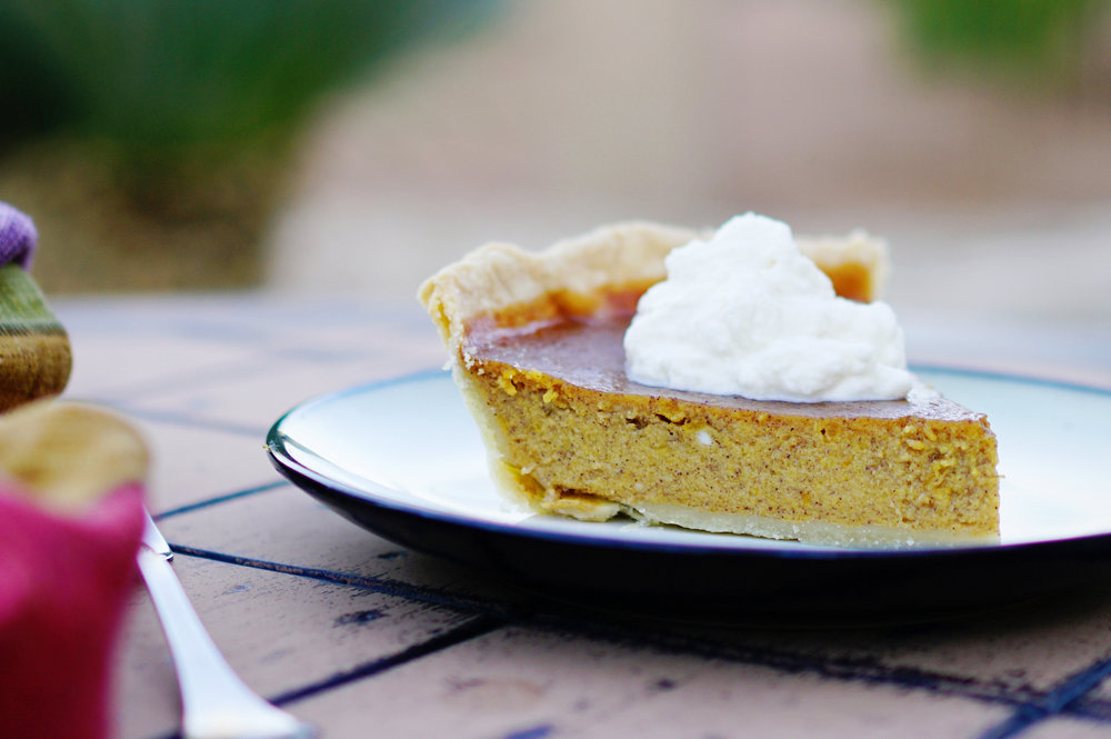 Solar oven pumpkin pie recipe from the Solavore blog