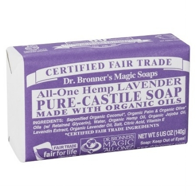 We have personally used this type of soap in the laundry detergent but any brand/type will do.