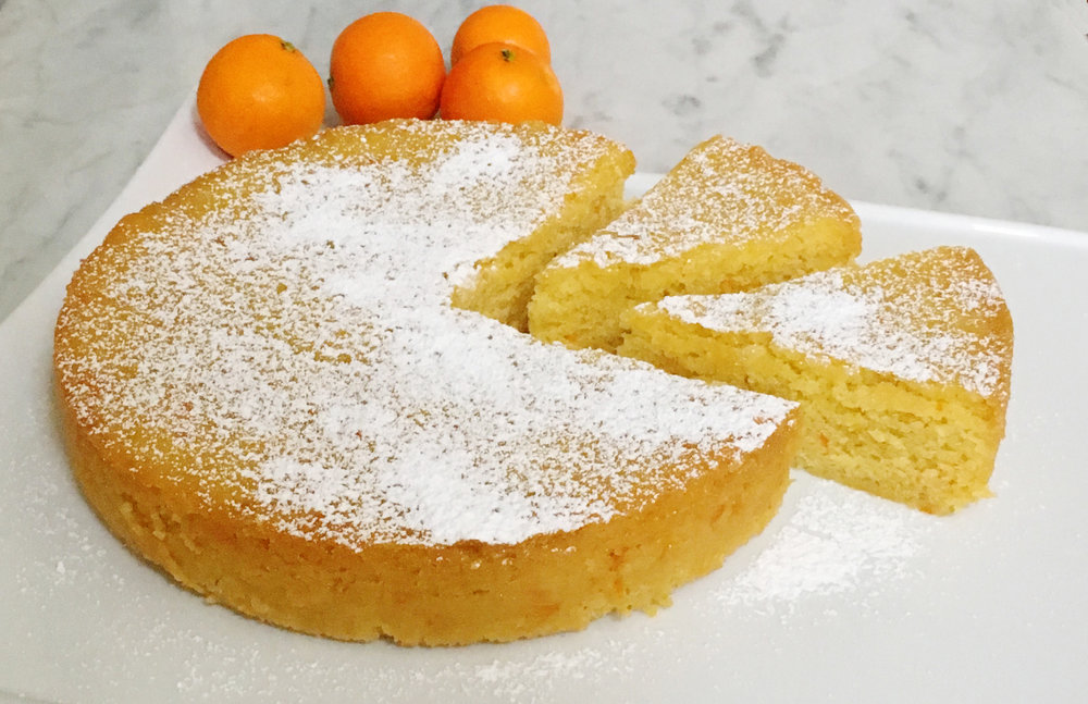 solar oven mandarin orange and olive oil cake recipe from the Solavore blog