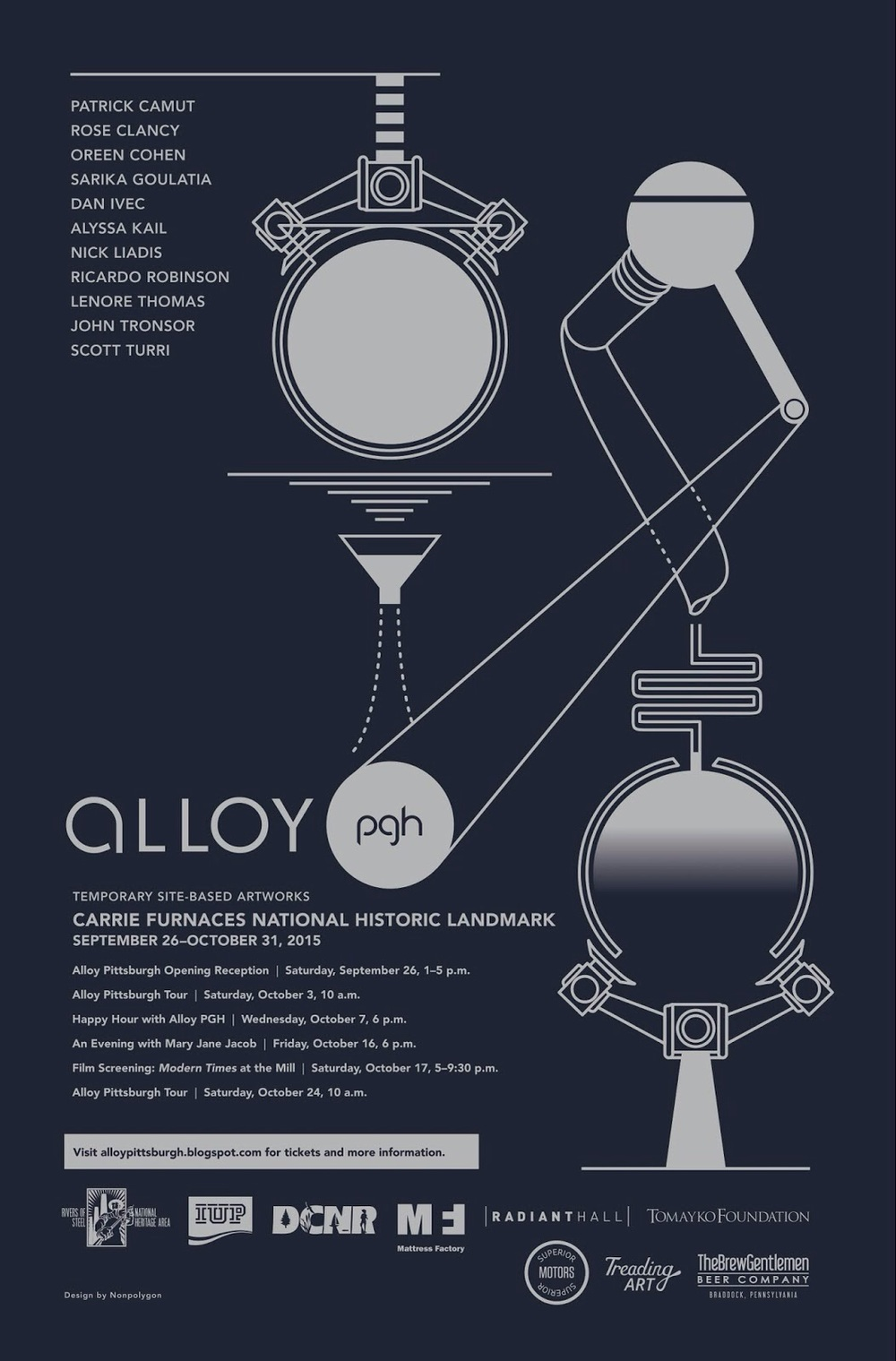 The official alloyPGH 2015 poster!