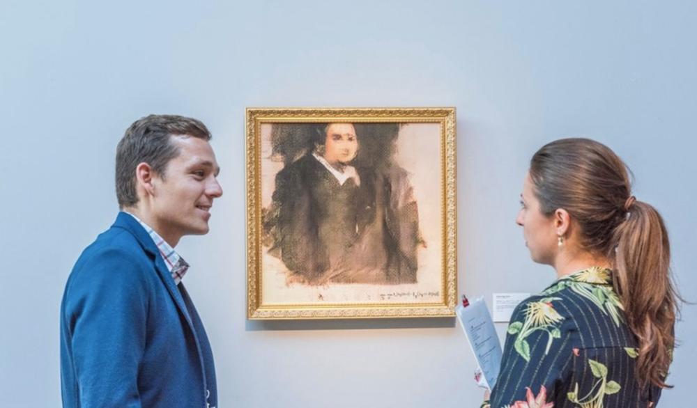 Skulle du betala 4 miljoner för ett konstverk skapat av en AI?