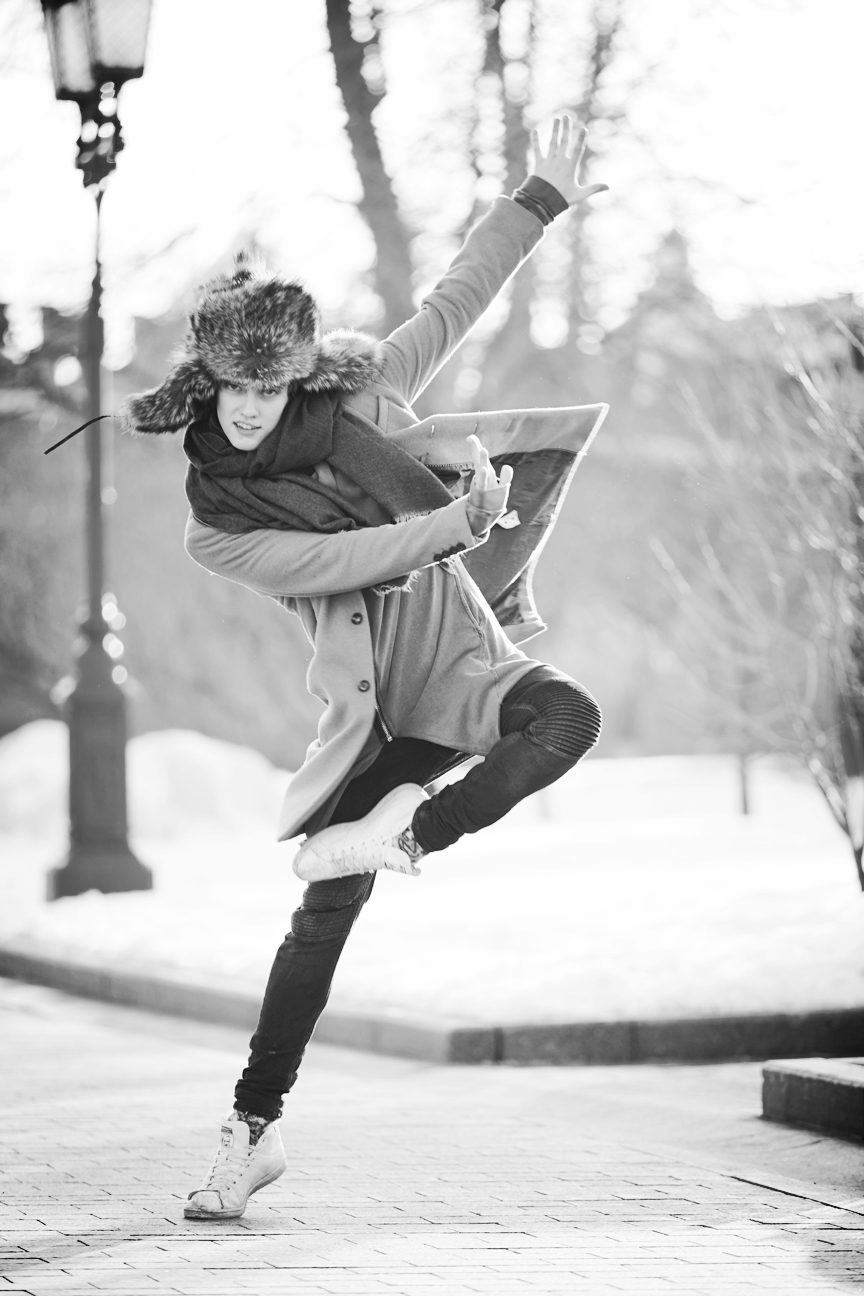 Julian MacKay, Dancer  Mikhailovsky Theater