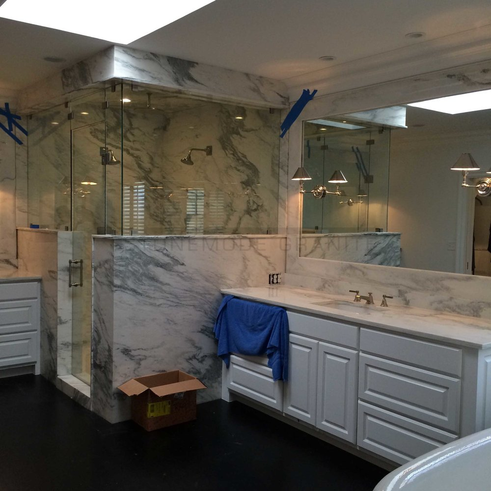 Custom Marble Bathroom