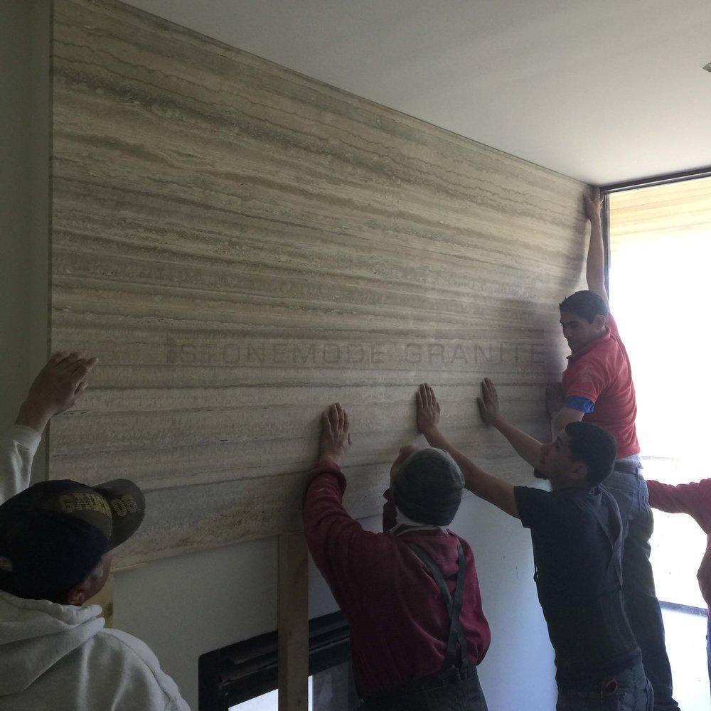 Vertical Slab Installation