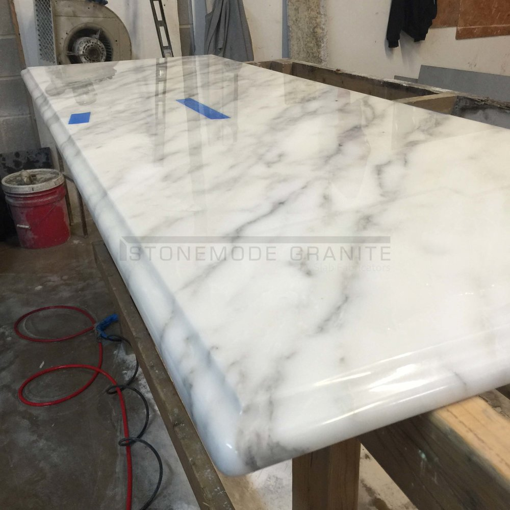 Ogee Edge on Marble