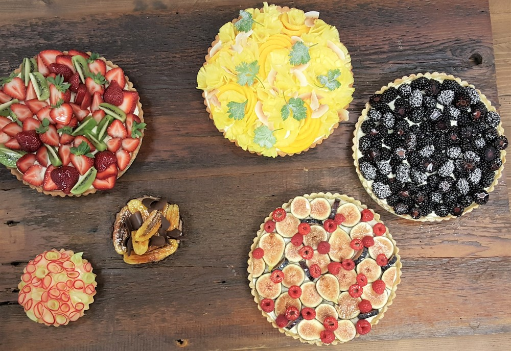 assorted tarts for Fine Cooking Magazine