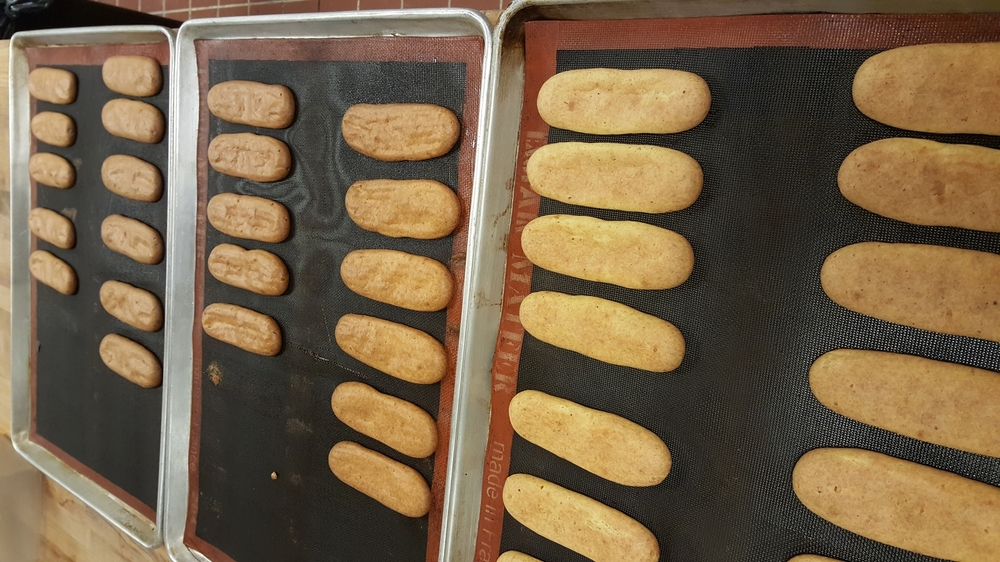 Early failed attempts at eclairs.