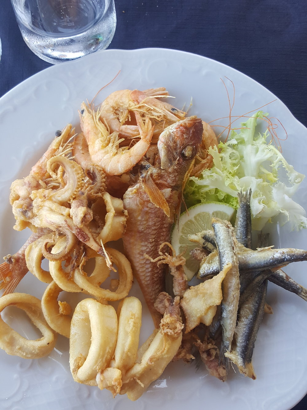 Fritto Misto, aka deep-fried yumminess from the sea!